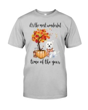 The Most Wonderful Time - Westie Classic T-Shirt front