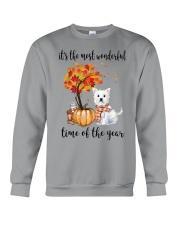 The Most Wonderful Time - Westie Crewneck Sweatshirt thumbnail