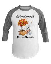 The Most Wonderful Time - Westie Baseball Tee thumbnail