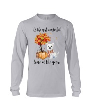 The Most Wonderful Time - Westie Long Sleeve Tee thumbnail