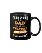 Tough Enough To Be A Dad and Stepdad Mug thumbnail