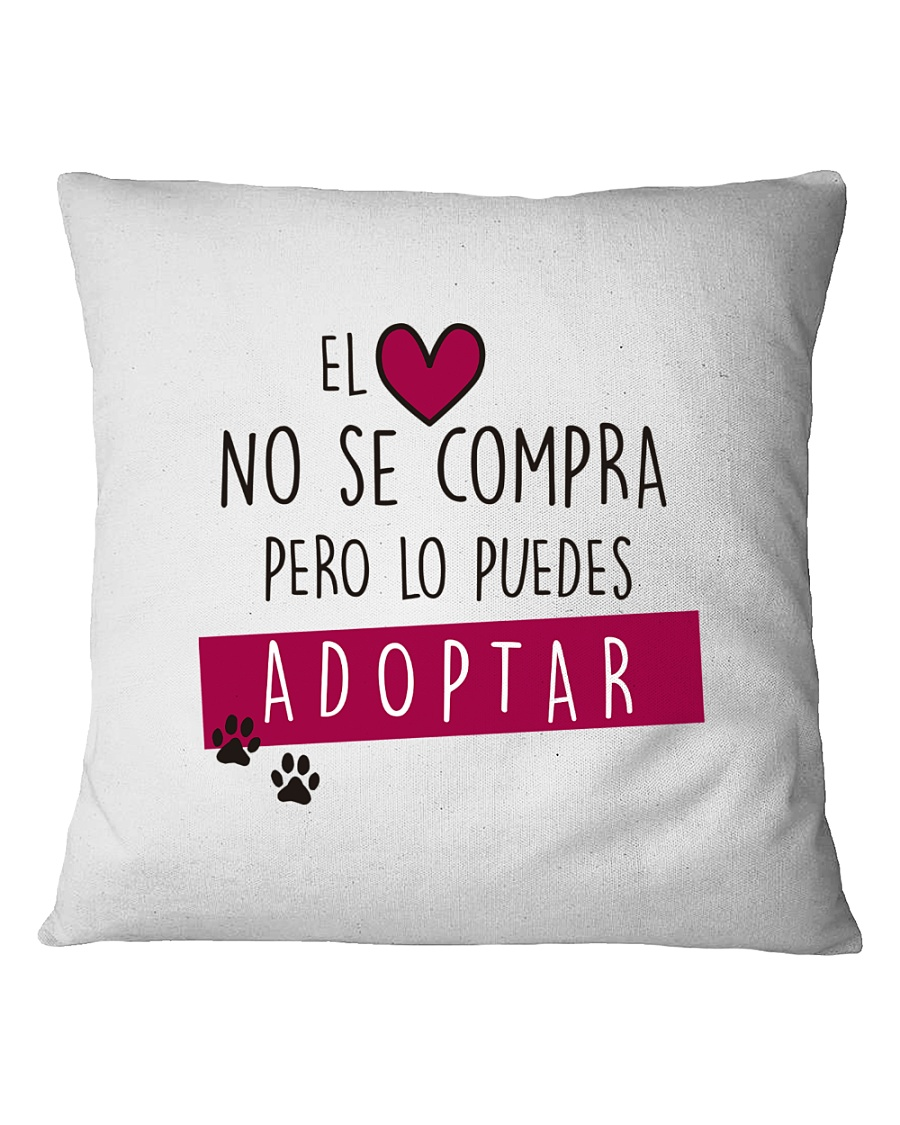 ONG animalista Accion por el Rescate Square Pillowcase