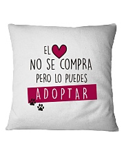 ONG animalista Accion por el Rescate Square Pillowcase front
