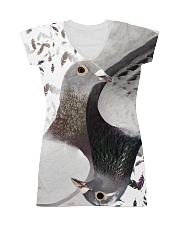 Pigeon Lovers T-shirt 3D  All-over Dress thumbnail