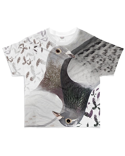 Pigeon Lovers T-shirt 3D