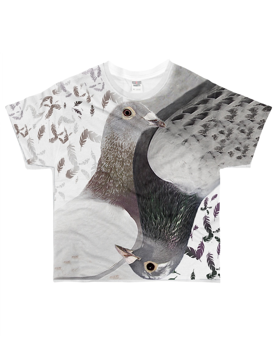 Pigeon Lovers T-shirt 3D  All-over T-Shirt