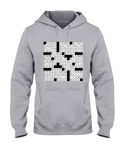 Spot On A Shirt Crossword Clue
