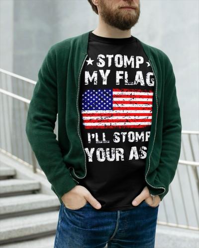 Stomp My Flag Ill Eat Your Ass Shirt