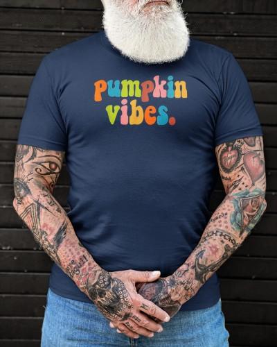 pumpkin vibes retro vintage cute fall autumn pumpkin shirt
