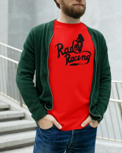 rad racing red shirt