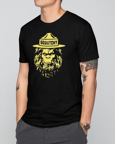 Sasquatch Smokey The Bigfoot Bear Shirt