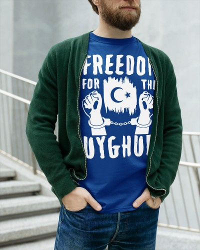 freedom the uyghurs t shirt