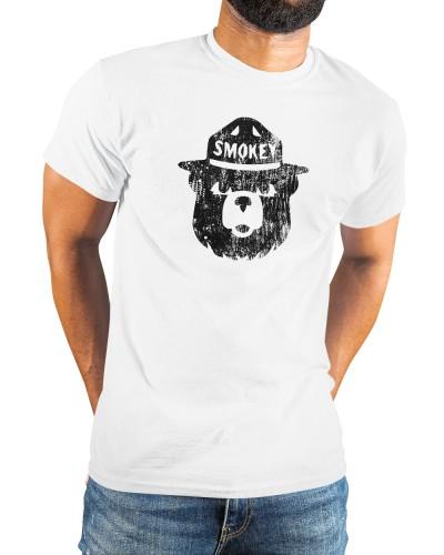 smokey the bear distressed shirt