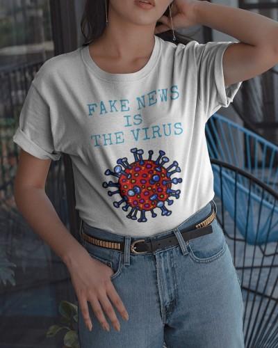 fake news is the virus shirt