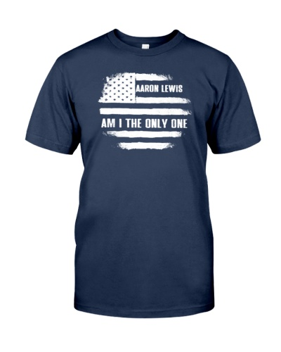 Aaron Lewis Am I The Only One Flag USA Shirt