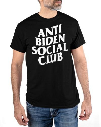 anti biden social club t shirt