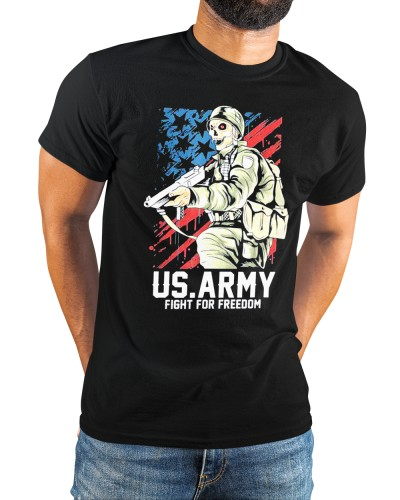 nice army fight for freedom shirt