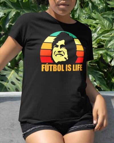 futbol is life shirt