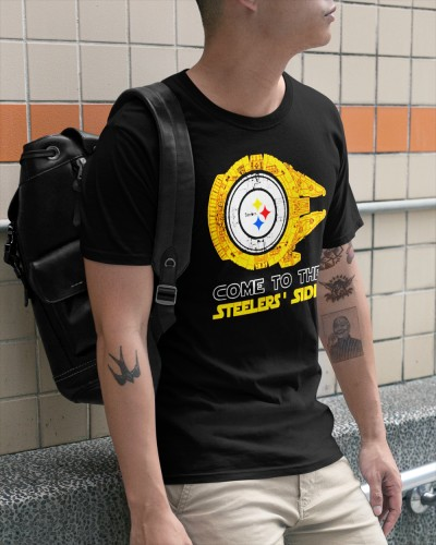 Star Wars Ship Pittsburgh Steelers Come To The Steelers Side Shirt