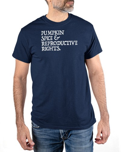 pumpkin spice reproductive rights feminist rights choice shirt