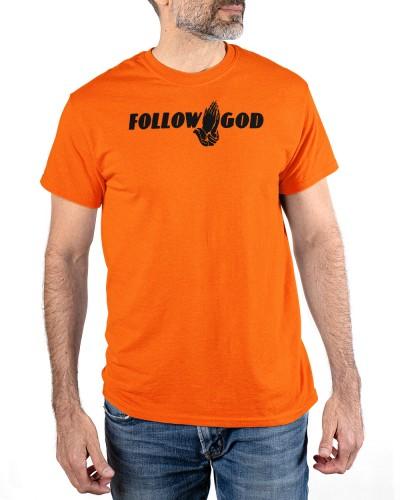 follow god t shirt