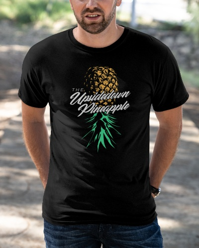 upside down pineapple shirt