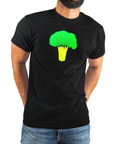 josh blue broccoli shirt meaning