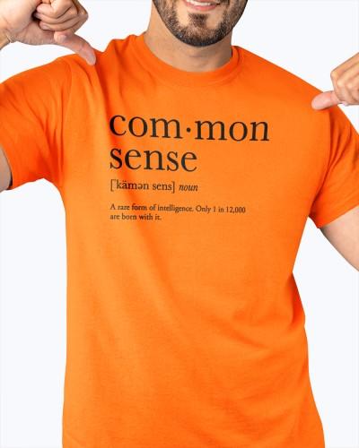 common sense definition shirt