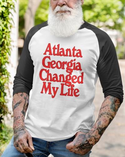 atlanta georgia changed my life t shirt
