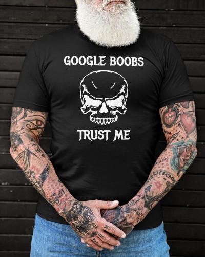 Spooky Cummies Skull Google Boobs Trust Me Shirt