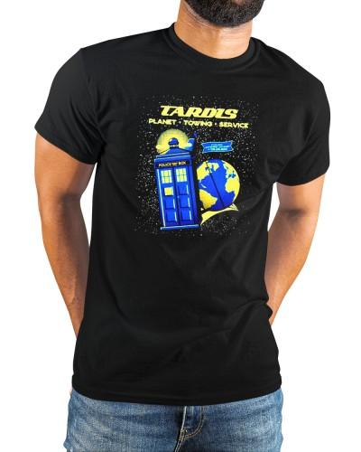 tardis planet towing service shirt