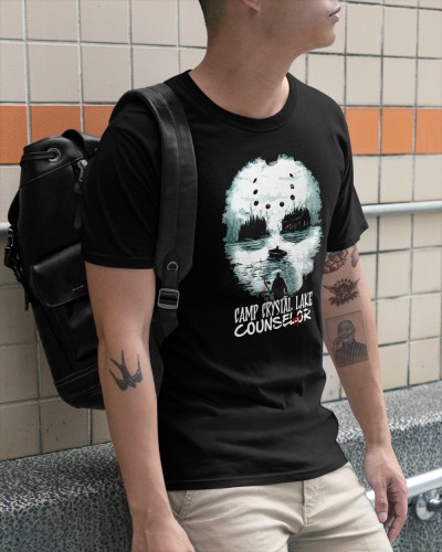 camp crystal lake counselor halloween shirt