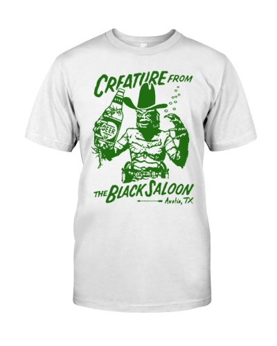 Creature From The Black Saloon shirt