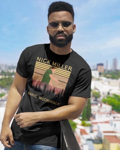 nick miller panic moonwalk shirt