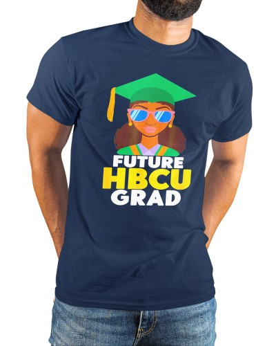 future hbcu grad afro girl historical black college alumni shirt