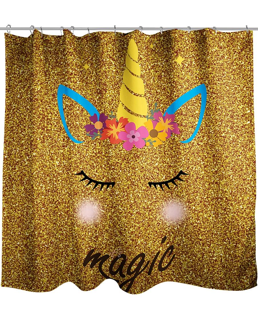 Unicorn Shower  Shower Curtain