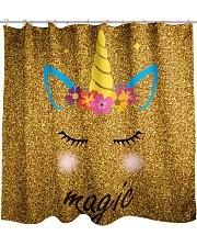 Unicorn Shower  Shower Curtain front