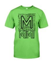 MIMI - TYPOGRAPHIC DESIGN Classic T-Shirt thumbnail