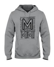 MIMI - TYPOGRAPHIC DESIGN Hooded Sweatshirt thumbnail