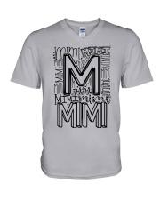 MIMI - TYPOGRAPHIC DESIGN V-Neck T-Shirt thumbnail