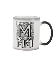 MIMI - TYPOGRAPHIC DESIGN Color Changing Mug thumbnail