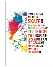 1-skater- I WAS BORN kd 11x17 Poster front
