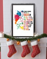 1-skater- I WAS BORN kd 11x17 Poster lifestyle-holiday-poster-4