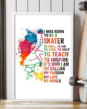 1-skater- I WAS BORN kd 11x17 Poster lifestyle-poster-4