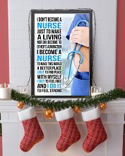 I DON'T BECOME A NURSE JUST TO MAKE A LIVING 11x17 Poster lifestyle-holiday-poster-4
