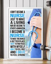I DON'T BECOME A NURSE JUST TO MAKE A LIVING 11x17 Poster lifestyle-poster-4