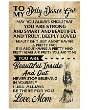 TO MY BELLY DANCE GIRL- MOM 16x24 Poster front
