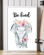 ELEPHANT BE KIND POSTER 11x17 Poster lifestyle-poster-4