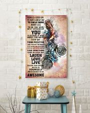 BMX - TODAY IS A GOOD DAY POSTER 11x17 Poster lifestyle-holiday-poster-3