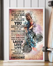 BMX - TODAY IS A GOOD DAY POSTER 11x17 Poster lifestyle-poster-4